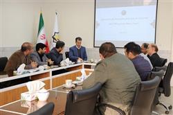 جلسه مشترک مدیر عامل سازمان با شهردار و معاونان شهرداری منطقه 9 مشهد
