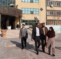 بازدید مدیرعامل سازمان از بخش های مختلف موسسه آموزش، تحقیقات و مشاوره شهرداریهای خراسان رضوی