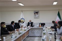 جلسه هماهنگی واحدهای شرکت کننده در نمایشگاه خدمات شهری، حمل و نقل، ترافیک و ماشین آلات وابسته ایران - افغانستان