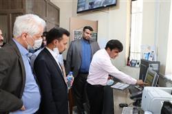 در حاشیه سفر به تایباد انجام شد؛ بازدید معاونان و مسوولان واحدحراست و سوخت سازمان از اقدامات اقتصادی سازمان در مرز